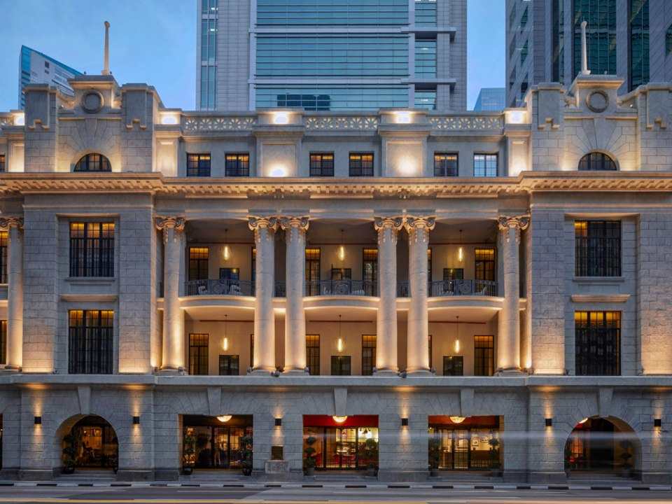 Exterior of the Sofitel (Image Source: Sofitel So Singapore / sofitel.com)