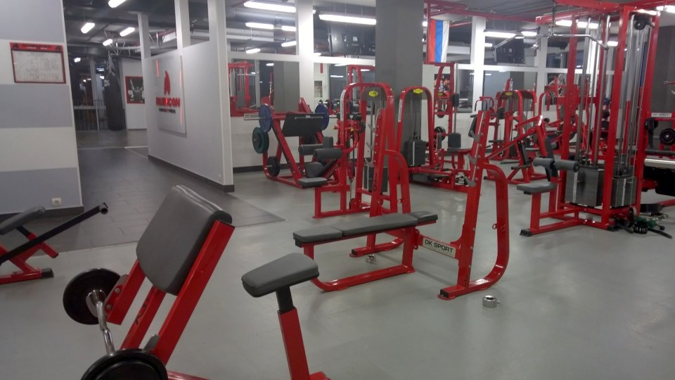 Public gym with access for guests of the Radisson Blu Kaliningrad