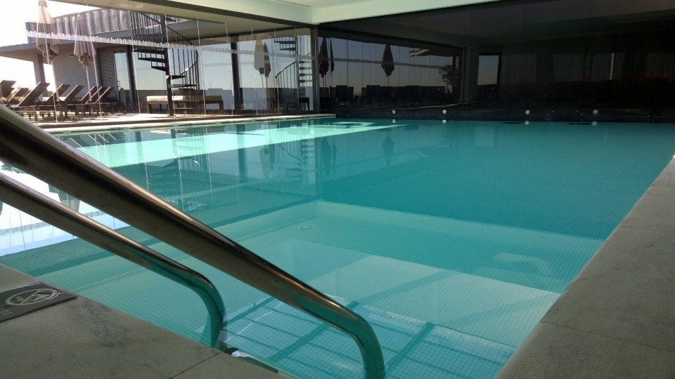 Indoor Pool at the Pousada de Cascais