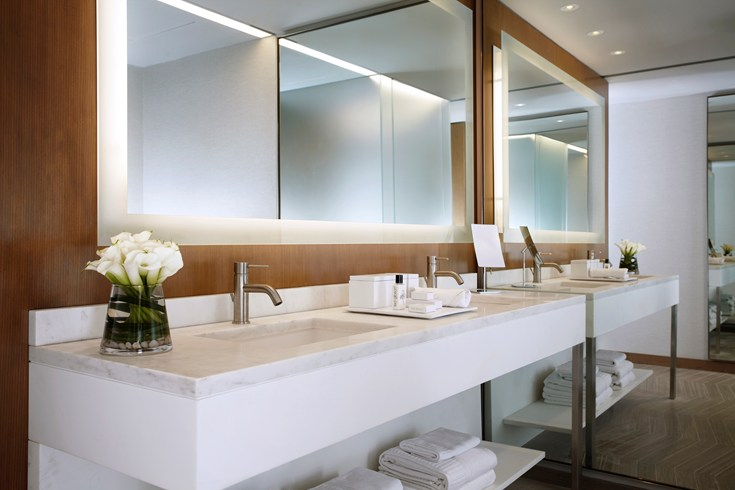 Modern bathrooms in every room (Image Source: The Leading Hotels of the World / lhw.com)