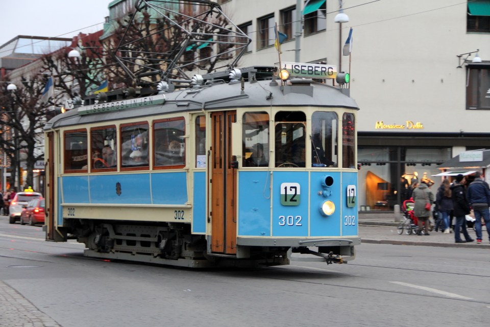 The Liseberg line is one of the special tram lines in Gothenburg