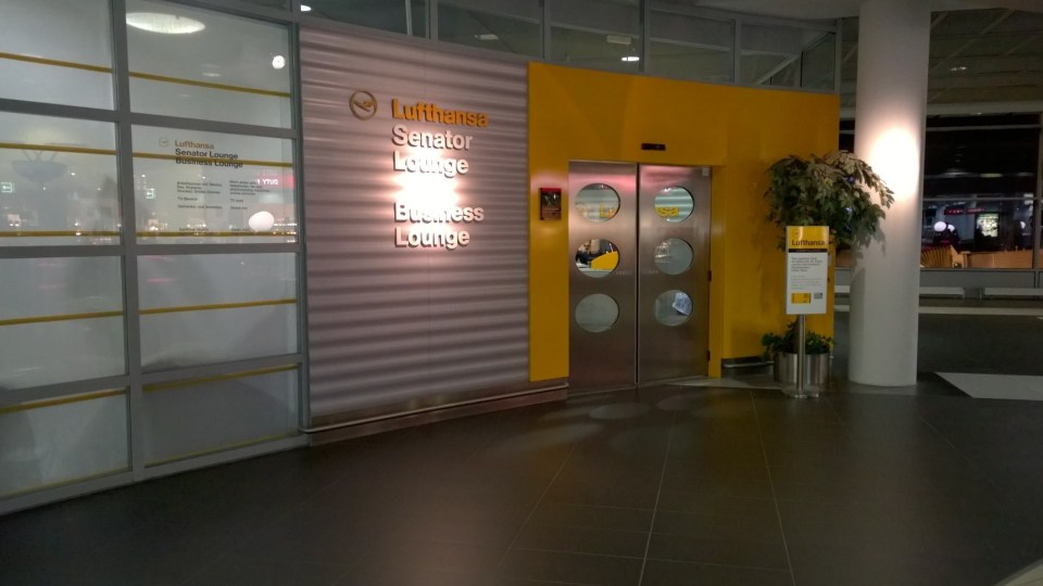 The Lufthansa Lounge is the most used lounge at Dresden Airport