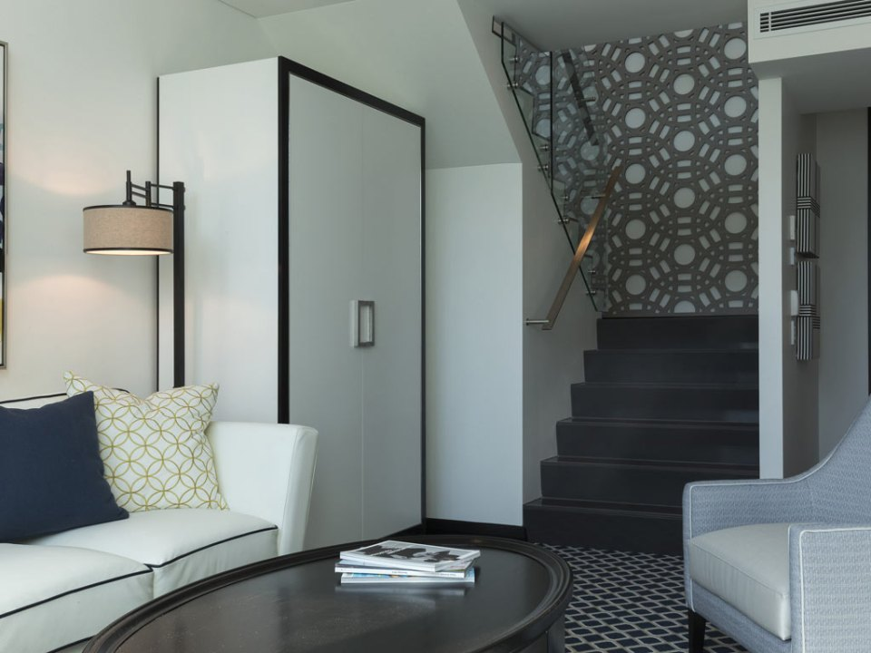 There are also Duplex Suites in the new MGallery hotel (Image Source: The New Inchcolm Hotel and Suites / mgallery.com)