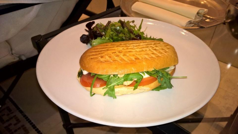 Fresh and tasty panini