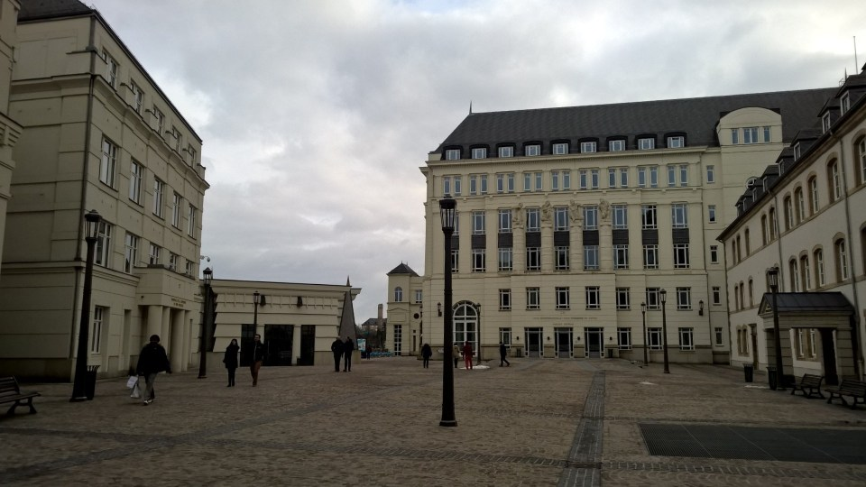 Several buildings of the Court of Justice