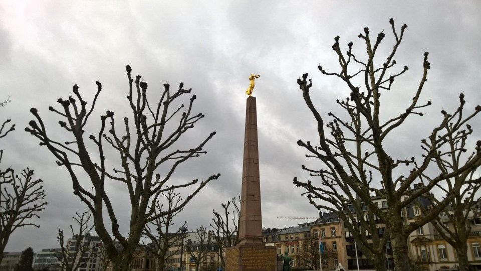 Lovely monument