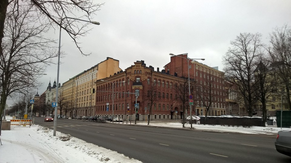There is not only ice in Helsinki, there are also some amazing buildings