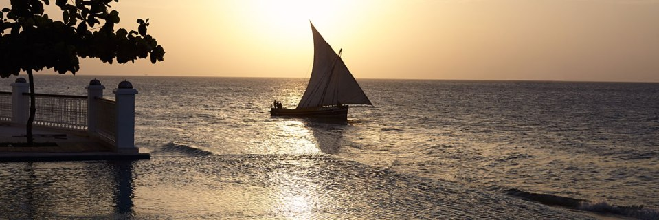 Sailing is just one of many possible activites (Image Source: Park Hyatt Zanzibar / hyatt.com)