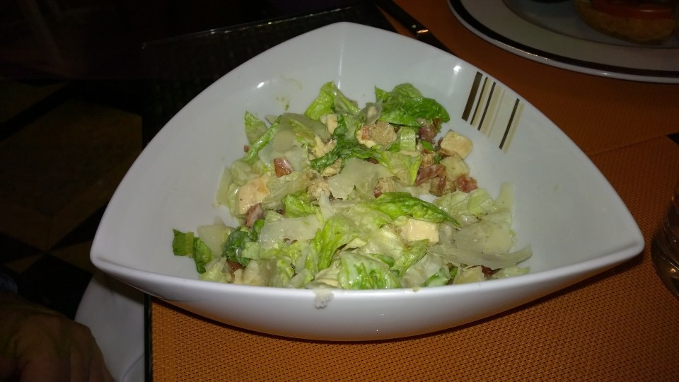 Good from the start on: Ceaser Salad