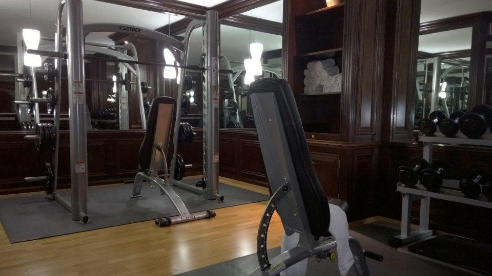 Machines in the gym