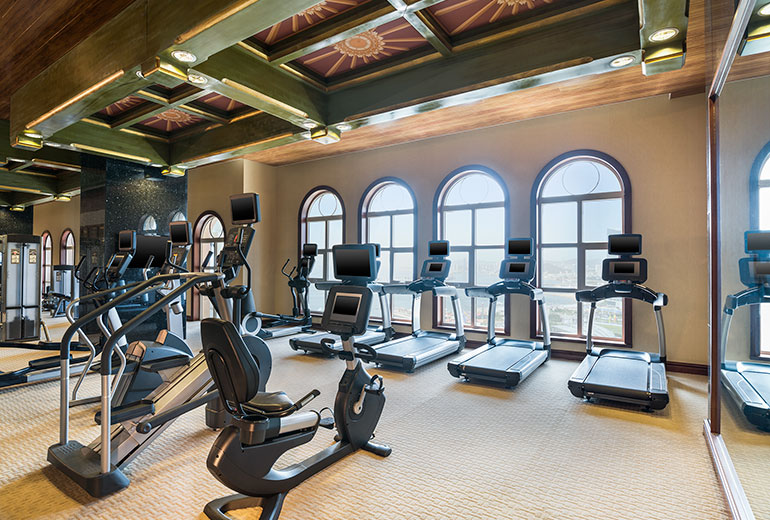 Gym (Image Source: The Castle Hotel Dalian / starwoodhotels.com)