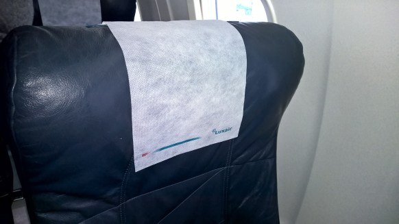 Head rest of the seat