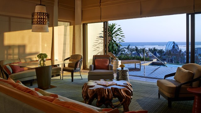 Large living rooms and great views are the things that make the Ritz-Carlton Bali unique (Image Source: The Ritz-Carlton Bali / ritzcarlton.com)