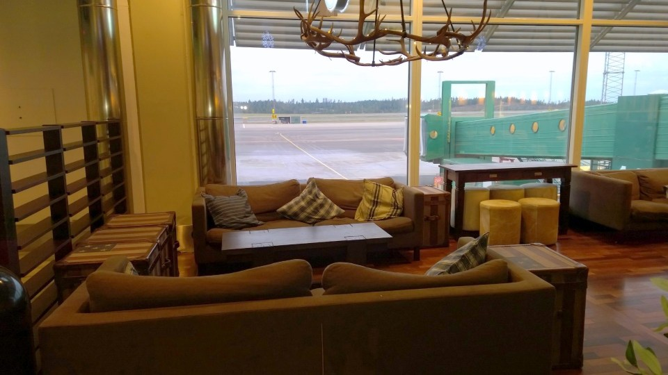 Some couches may be suitable for a night at the airport