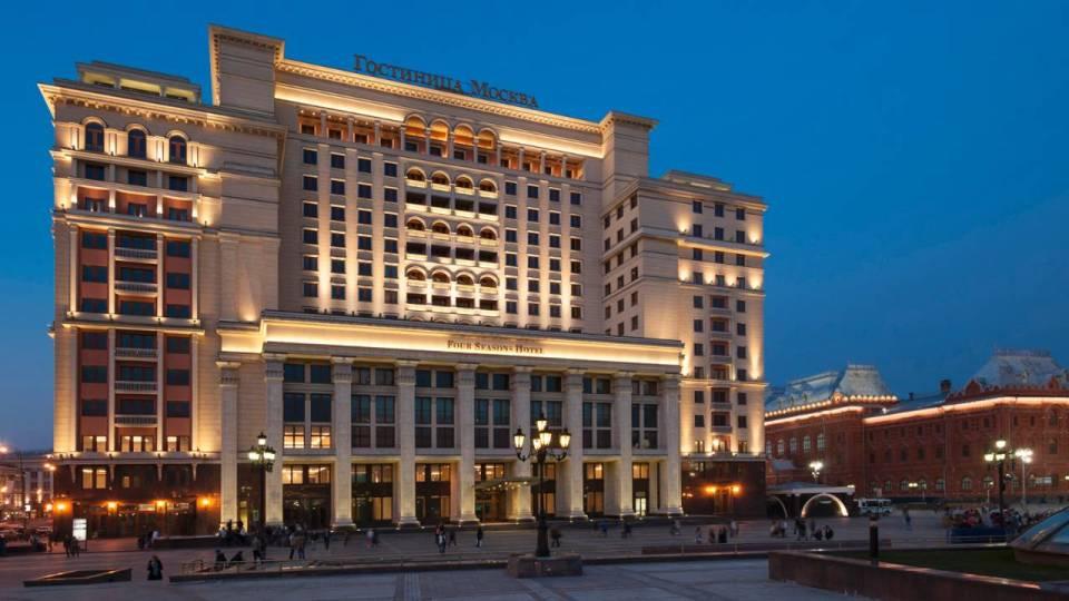 Exterior (Image Source: Four Seasons Moscow / fourseasons.com)