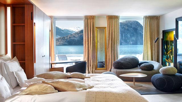 Le Temps Junior Suite (Image Source: Park Hotel Vitznau / parkhotel-vitznau.ch)