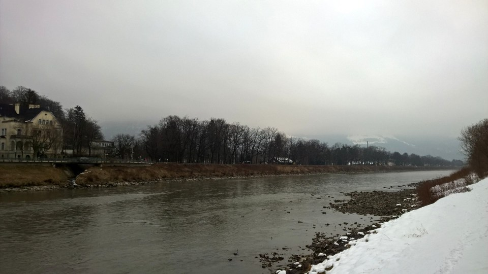 The views of the nature right at the Salzach were admirable as well