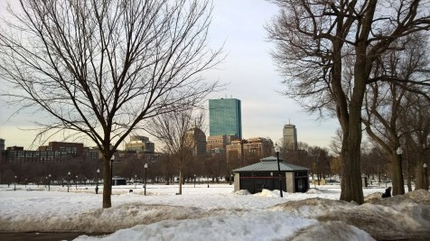 Running in Boston