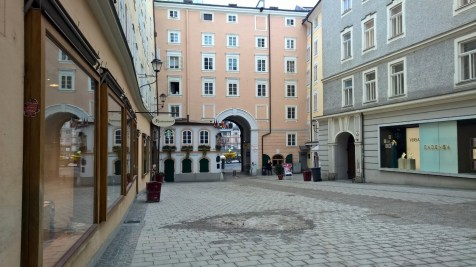 Running in Salzburg