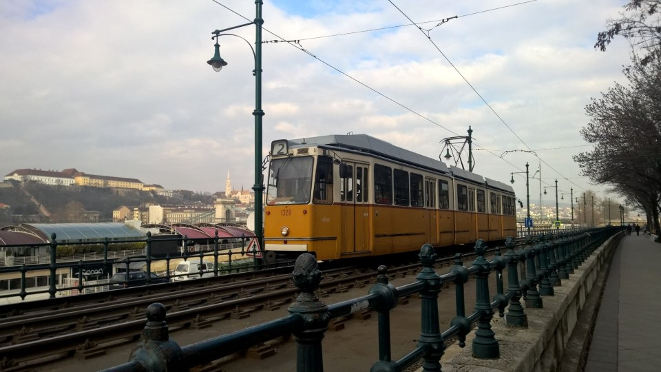Faster than me: Historic Tram Line 2