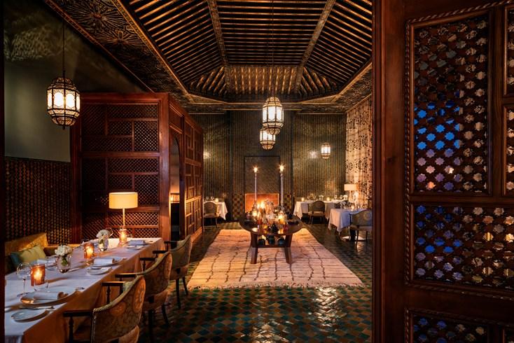 Restaurant Royal Palm Marrakech