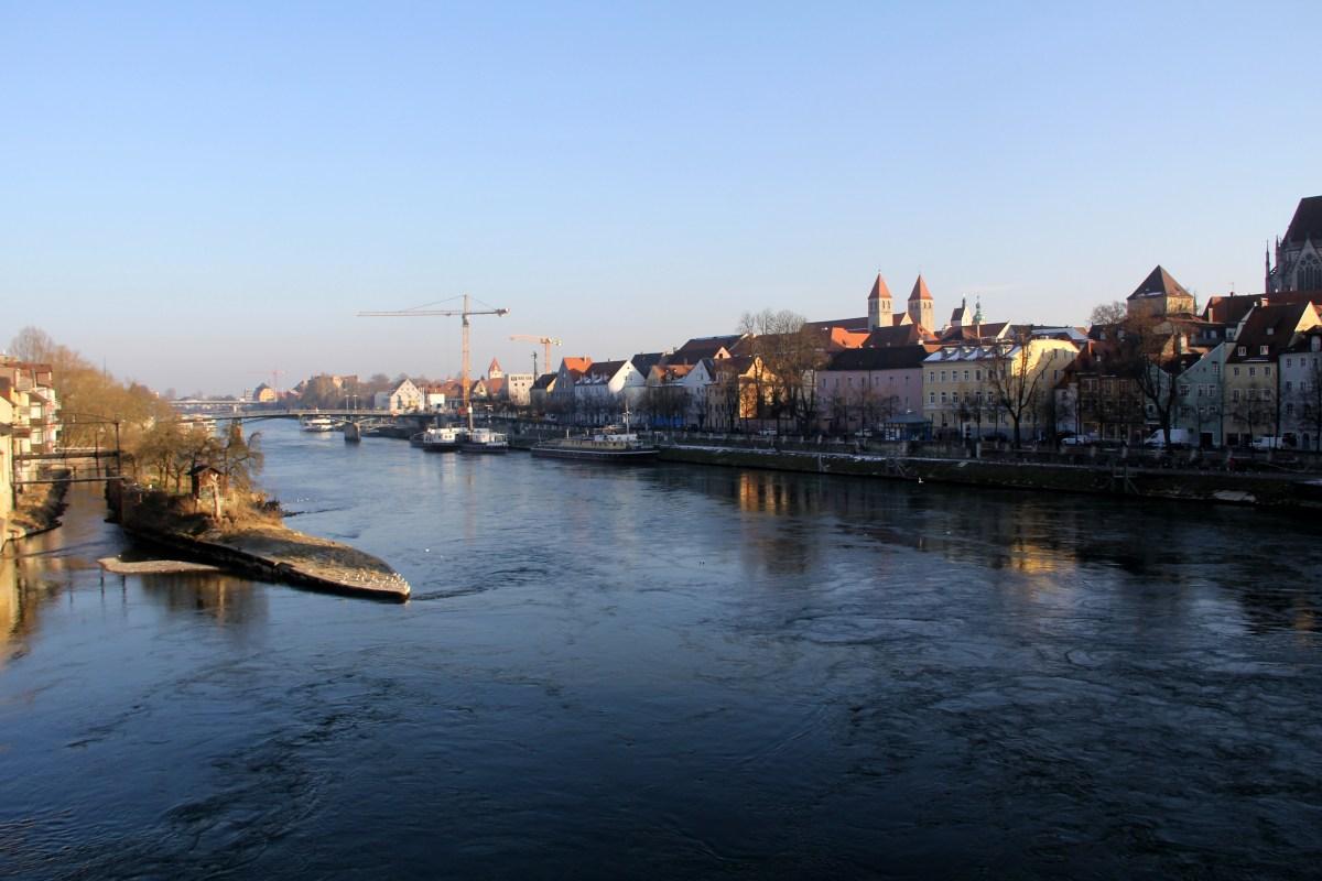 Panoramic views of Regensburg