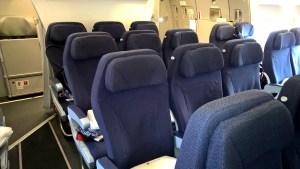 Air Berlin Economy Class Seating
