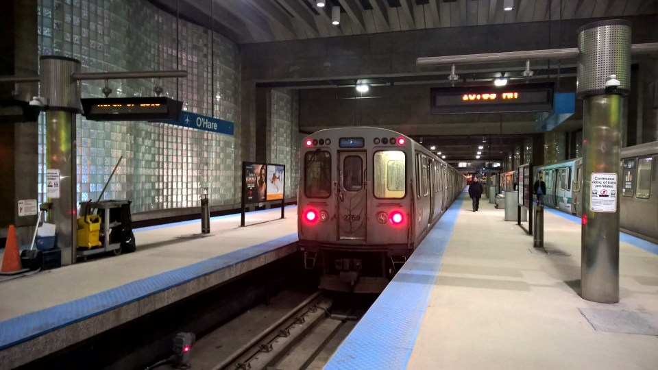 There is a very good metro connection from O'Hare to the city center