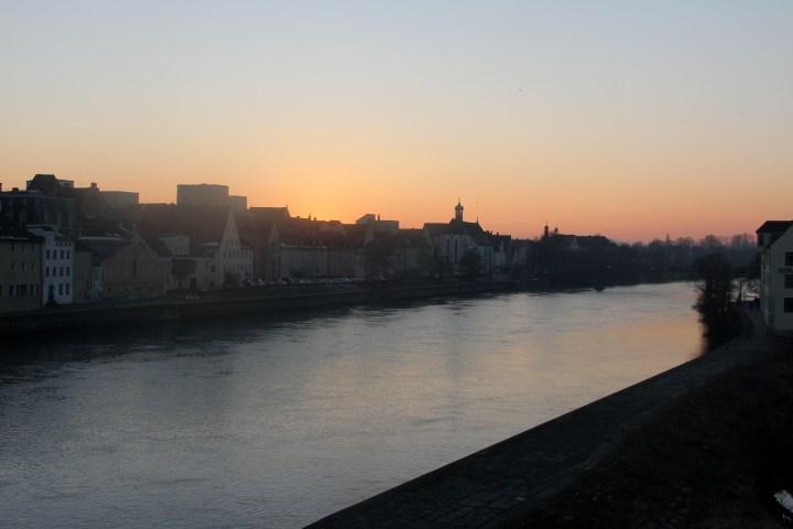 Sunset in Regensburg