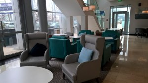 Hilton Warsaw Convention Center Executive Lounge