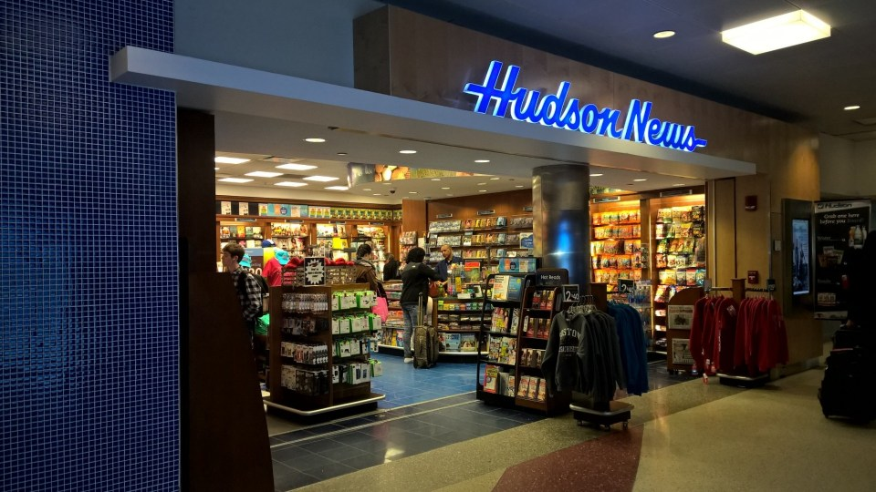There are dozens of shops at Boston Logan Airport