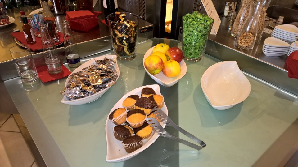 Snacks Atlantic Lounge Munich