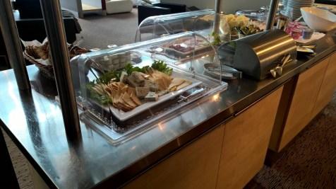 Business Lounge Riga Buffet