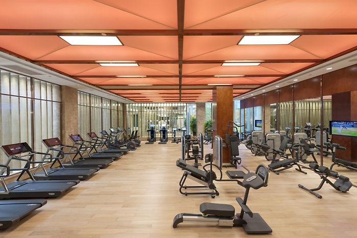Mandarin Oriental Shanghai Gym