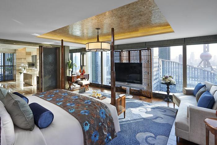 Mandarin Oriental Shanghai Presidential Suite