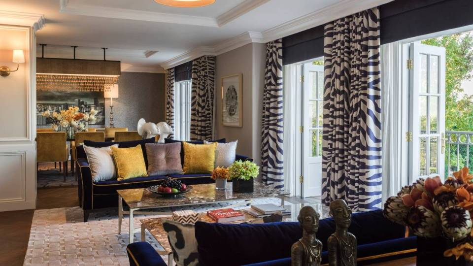 Four Seasons Johannesburg Royal Suite