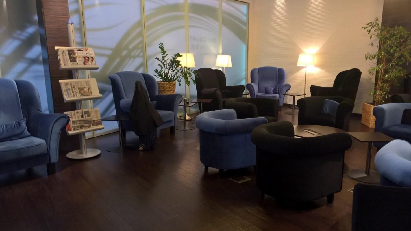 SkyCourt Lounge Budapest Seating