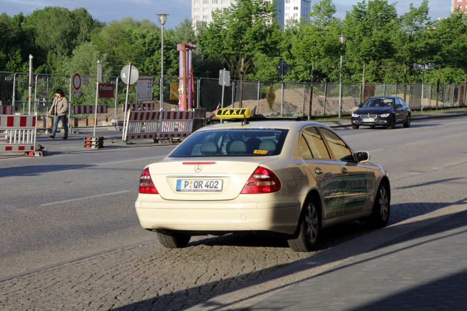 As everywhere in Germany, taxis are expensive in Potsdam