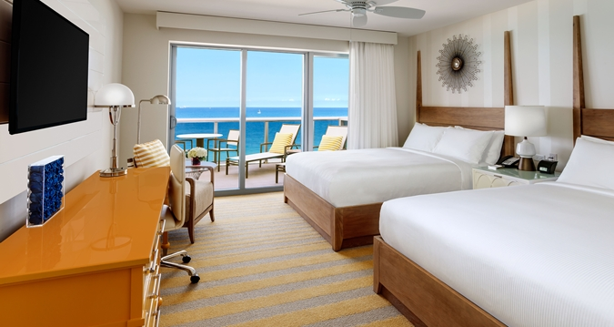 Hilton Cabana Miami Beach Twin Oceanfront Room