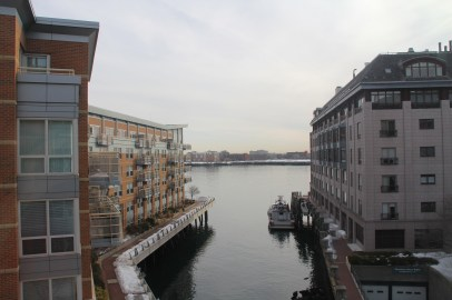 The amazing view we enjoyed during out stay at Battery Wharf Hotel Boston