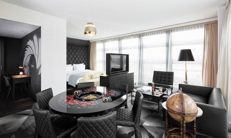 Kameha Grand Zurich Gentlemen Suite