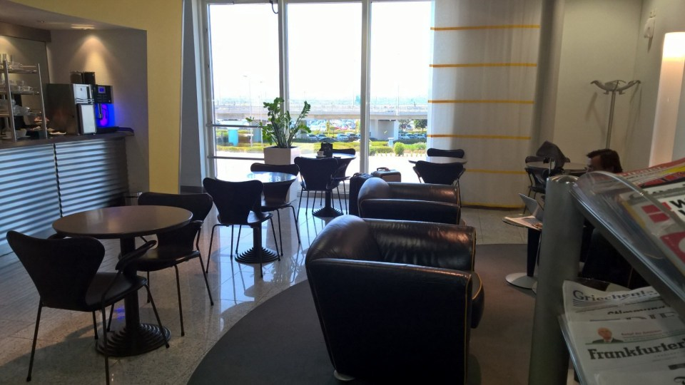 Lufthansa Business Lounge Athens