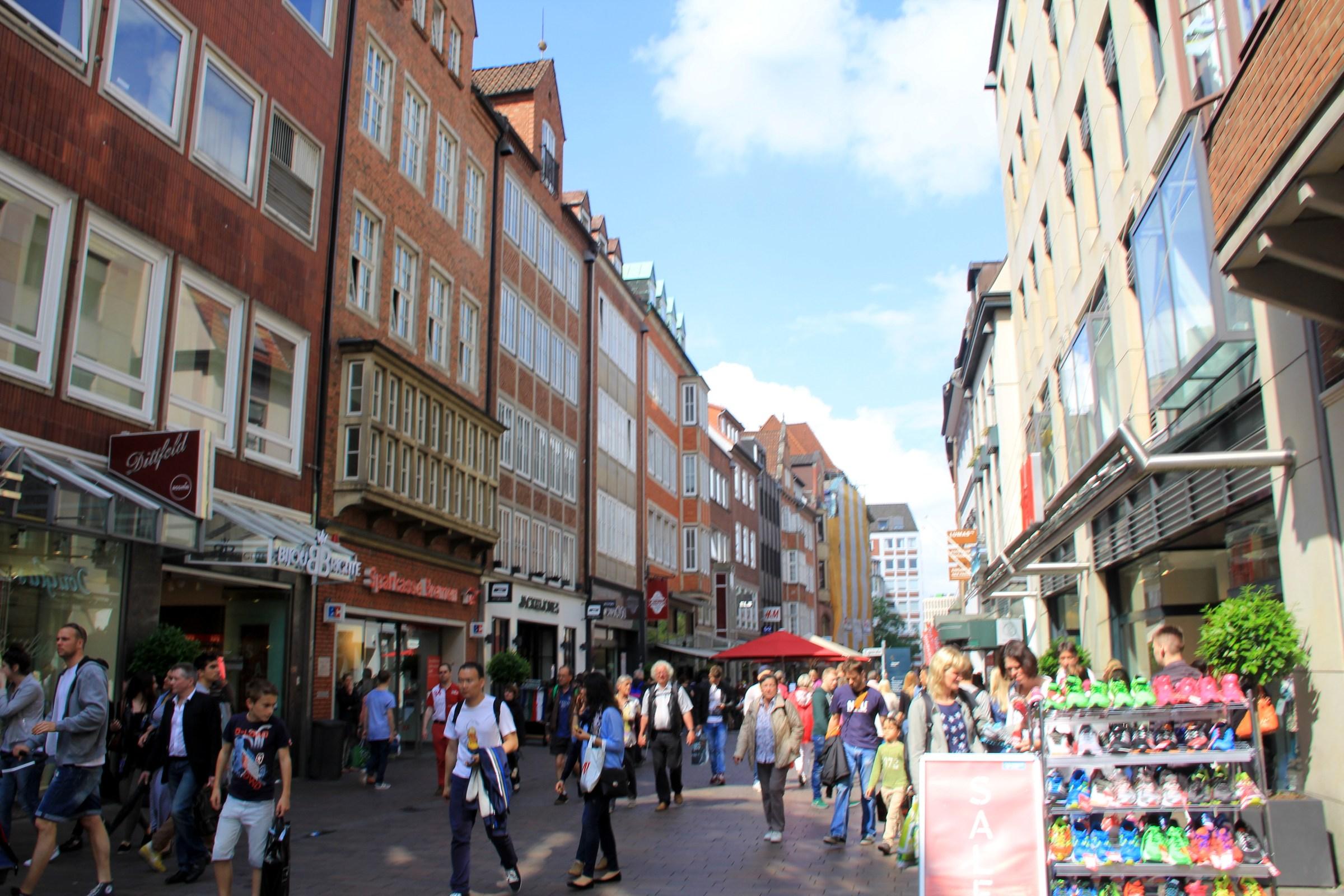Pedestrian Zone Bremen