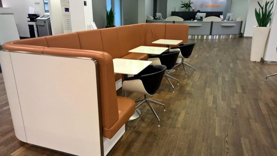 Lufthansa Senator Lounge Frankfurt Airport