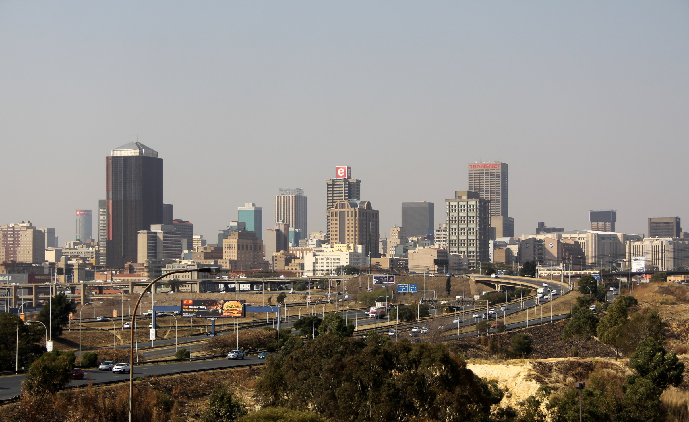 Johannesburg Skyline South Africa