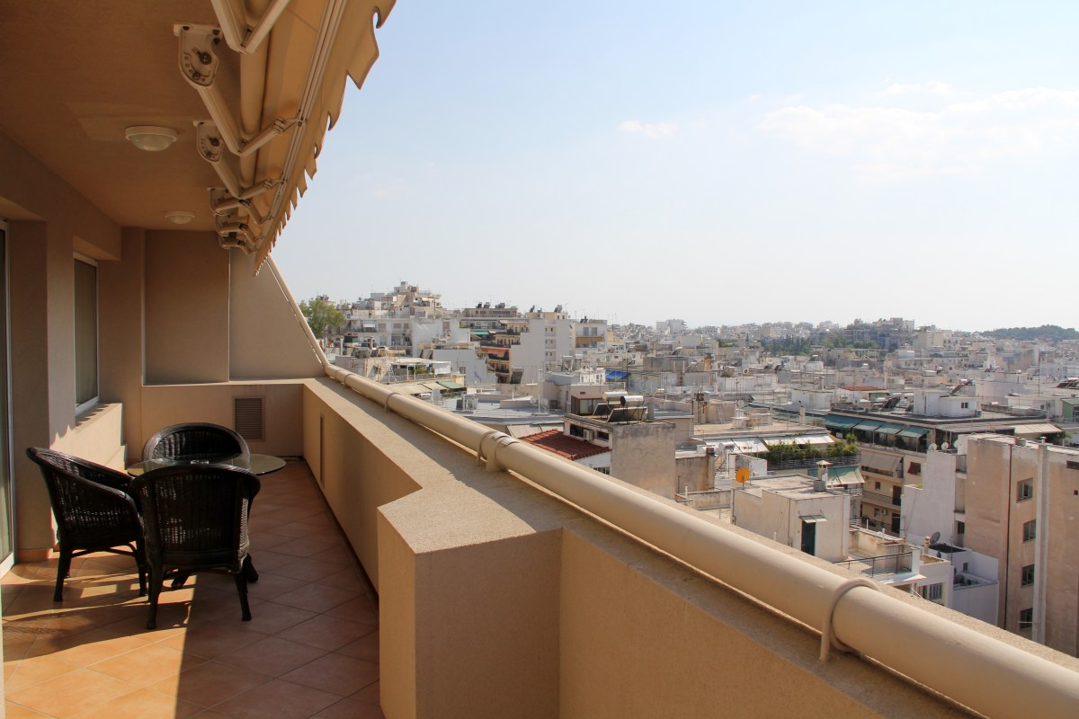 View of Athens from Divani Caravel