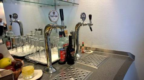 Lufthansa Business Lounge Athens Buffet