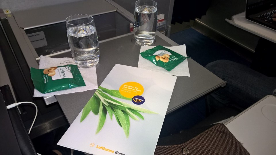 Lufthansa A321 Business Class