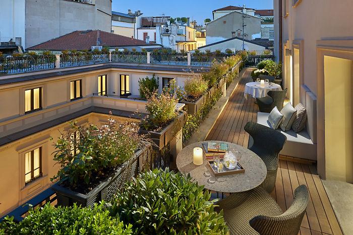 Mandarin Oriental Milan Mandarin Terrace Suite