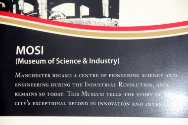 Museum of Science and Industry Manchester